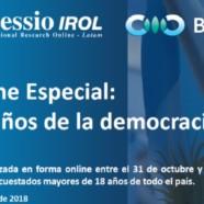 Informe Especial: A 35 años de la democracia